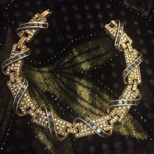 Heidi Daus Crystal Bracelet. NWOT.